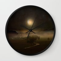 Sail To The Moon Wall Clock