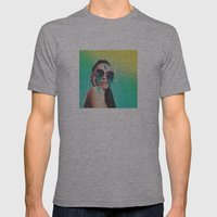 dreamer v01 Mens Fitted Tee Athletic Grey SMALL