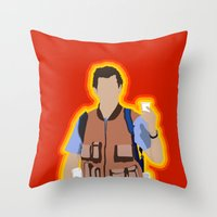 Bobby Boucher: Waterboy Throw Pillow