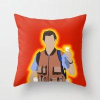 Bobby Boucher: Waterboy Throw Pillow