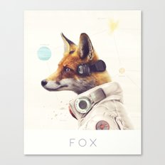 Star Team - Fox Canvas Print