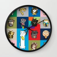 Lucky Cats - LOLcats Wall Clock