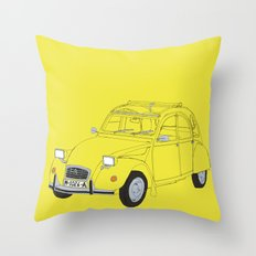 Citroën 2CV Throw Pillow