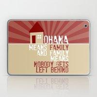 Ohana Means Family - Lilo & Stitch Laptop & iPad Skin