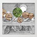 Duerer Last Communion Collage Canvas Print