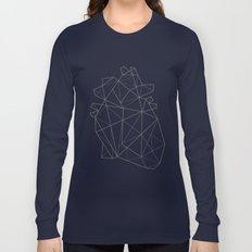 Origami Heart Long Sleeve T-shirt