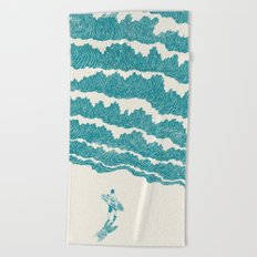 To the sea Beach Towel