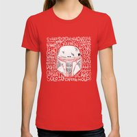 no disintegration  Womens Fitted Tee Red SMALL