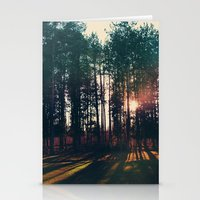 The Trees And The Sun Stationery Cards