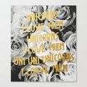 The Unicorn Song Canvas Print