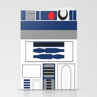 Star Wars - R2D2  Stationery Cards
