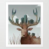 Unwelcome Visitor Art Print
