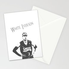 White Iverson Stationery Cards