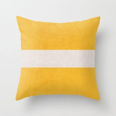 Yellow Classic Throw Pillow