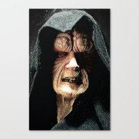 Palpatine Darth Sidious Canvas Print