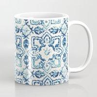 tile pattern IV - Azulejos, Portuguese tiles Mug
