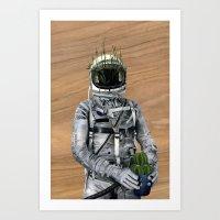 Cacti | Spaceman No:1 Art Print
