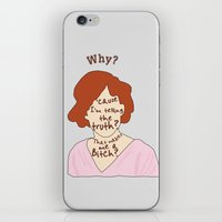 The Breakfast Club - Claire iPhone & iPod Skin