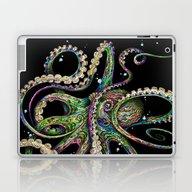 Octopsychedelia (black) Laptop & iPad Skin