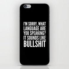 I'm Sorry, What Language… iPhone & iPod Skin