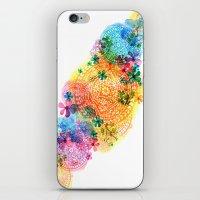 rainbow mandala cloud iPhone & iPod Skin