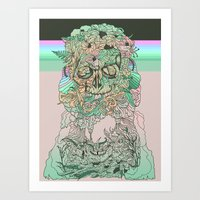 L O S T W O R D S Art Print