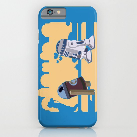 I fell in love in Tatooine iPhone & iPod Case