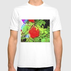 Divine Nature. SMALL Mens Fitted Tee White