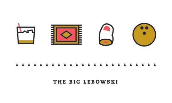 The Big Lebowski, Four Icon Challenge Art Print
