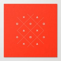 Geometry is Fun Canvas Print