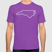 Ride Statewide - North C… Mens Fitted Tee Ultraviolet SMALL