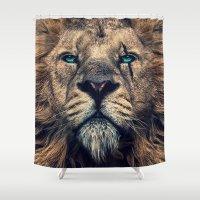 King of Judah Shower Curtain