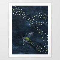 Trail of Stars Art Print