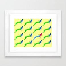 A different Mermaid Framed Art Print