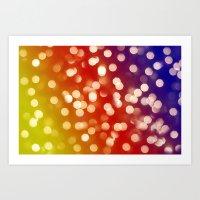 Lights & Gradients VII Art Print
