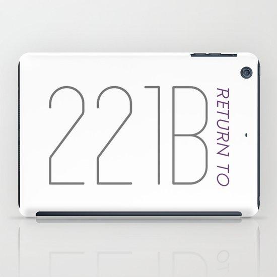 Return to 221B iPad Case