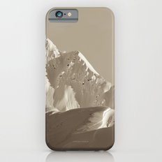 Alaskan Mts. - Mono I Slim Case iPhone 6s