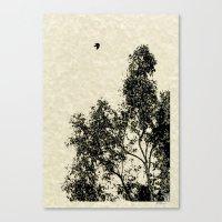 Passing Through Canvas Print