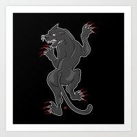 PP (Panther Power) Art Print