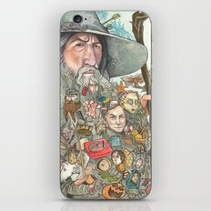 Gandalf's Beard iPhone & iPod Skin
