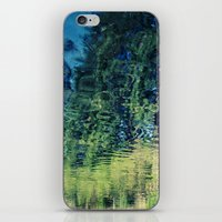 water reflections iPhone & iPod Skin