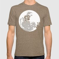 Dib And The E.T Mens Fitted Tee Tri-Coffee SMALL