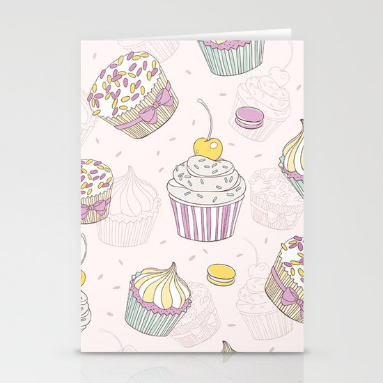 Sweets Galore! Stationery Card