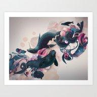Sea Calf Art Print