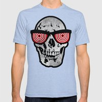 X-Ray Mens Fitted Tee Tri-Blue SMALL