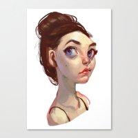 Bun Canvas Print