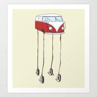the daliwagen Art Print