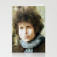 Bob Dylan - Blonde On Bl… Stationery Cards