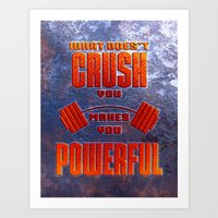 Crush Art Print