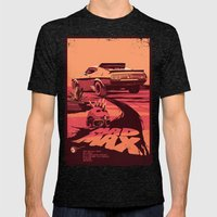 Mad Max Mens Fitted Tee Tri-Black SMALL